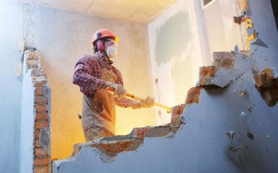 Comment casser un mur en brique rapidement et proprement ?